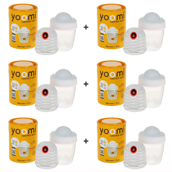 YOOMI Warmer & Pod (6 Packs)