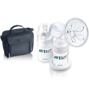 PHILIPS AVENT Manual Breast Pump Out & About Set