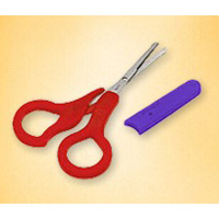NUK Baby Scissors With Cover
