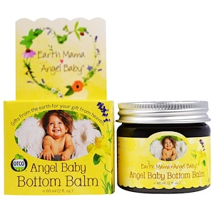 EARTH MAMA ANGEL BABY Angel Baby Bottom Balm 60ml