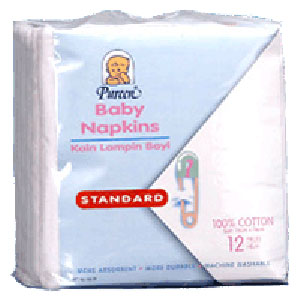 PUREEN Baby Napkins 12'S - BB