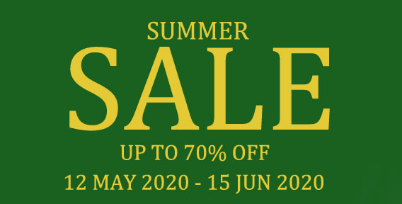 SUMMER SALE 2020 - SHOP NOW!